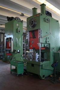 Presse meccaniche da 250 a 300 tonnellate.