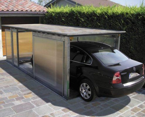 Montauto con box al piano auto in uscita. Casa privata