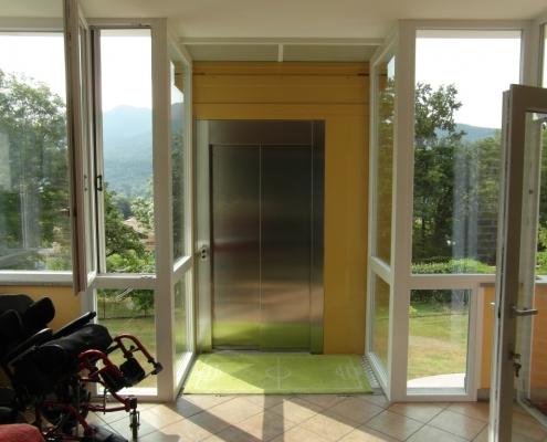 Sbarco ascensore direttamente in casa
