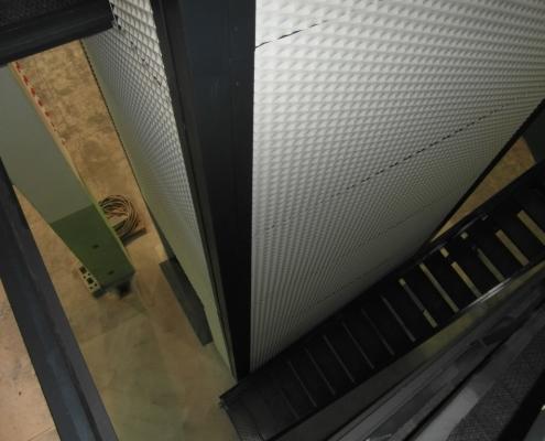 Vista dellla struttura lato scala.