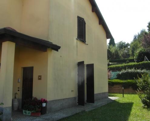Immagine della casa prima dell'installazione.