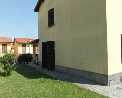 Immagine della casa prima dell'installazione..