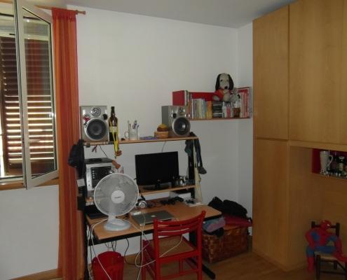 Immagine scattata all'interno della casa al piano primo.