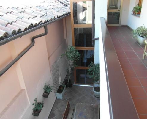 Vista dal secondo piano.